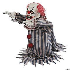 Animated Jumping Clown Halloween Decoration