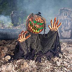 Ousfot Halloween Décorations Squelette Prop Motion sonore Activé Halloween Deco