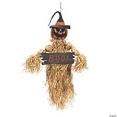 Animated Pumpkin Scarecrow
