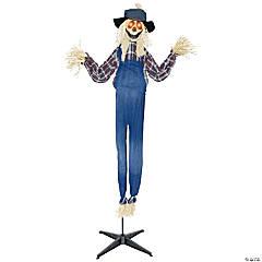 Animated Standing Scarecrow Halloween Decoration