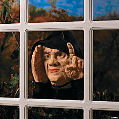 Animated Tapping Peeper Halloween Decoration