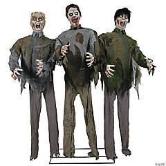 Animated Zombie Horde Halloween Decoration