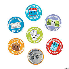 Anti-Bullying Mini Buttons