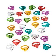 Antique-Look Metallic Rings