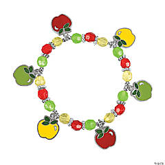 Apple Charm Bracelet Craft Kit