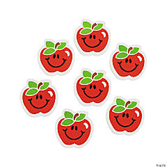 Apple Erasers - 24 Pc.