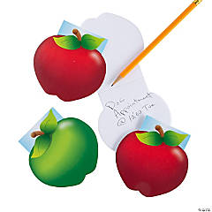 Apple-Shaped Notepads