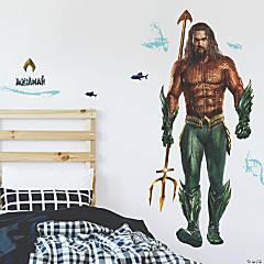 Aquaman Peel & Stick Giant  Decals