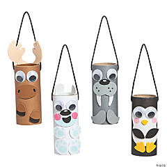 Arctic Animals Craft Tube Ornament Craft Kit