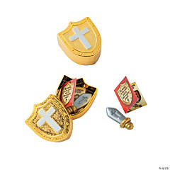Armor of God Toy-Filled Plastic Easter Eggs - 12 Pc.
