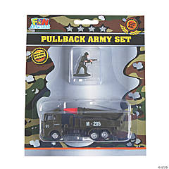 Army Pull-Back Toy Sets