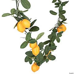 Artificial Lemon Garland