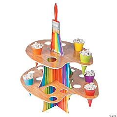 Artist Party Treat Stand with Cones