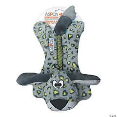 ASPCA Crinkle & Chew Rope Pup Dog Toy-Green