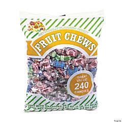 Assorted Fruit Chews, 240 Count