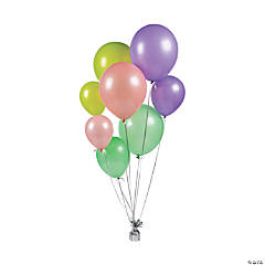 Assorted Size Topical Latex Balloons
