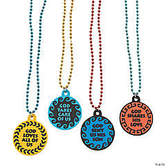 Athens VBS Beaded Necklaces
