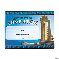 Athens VBS Certificates of Completion