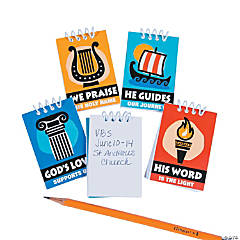Athens VBS Mini Spiral Notepads