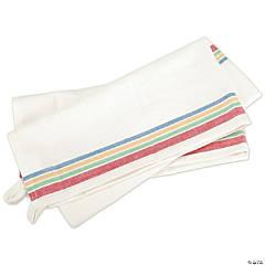 Aunt Martha Retro Stripe Towels - Multi Stripe, Qty 3