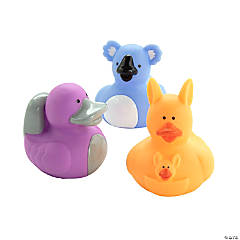 Australian Animal Rubber Duckies