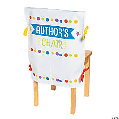 Author's Canvas Chair Cover