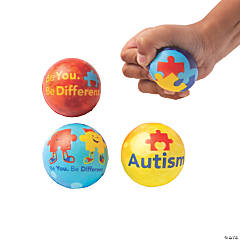 Autism Awareness Stress Balls
