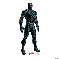 Avengers Animated Black Panther Cardboard Stand-Up