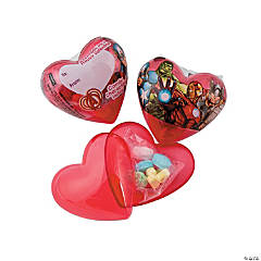 Avengers Assemble™ Classroom Valentine Hearts with Candy
