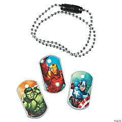 Avengers™ Dog Tag Necklaces