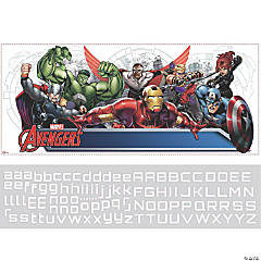 Avengers Personalization Headboard Decal
