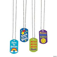 Award Dog Tag Necklaces