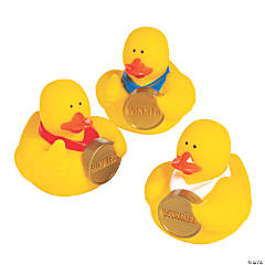 Award Medal Rubber Duckies