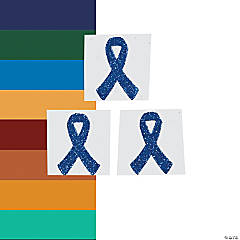 Awareness Ribbon Tattoo Stickers