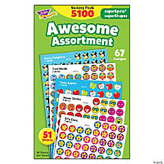 Awesome Assortment superSpots®/superShapes Variety Pack - 5100 ct