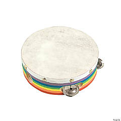 Awesome Rainbow Tambourine