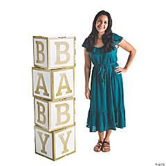 Baby Blocks Cardboard Stand-Ups