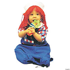 Baby Boy's Raggedy Andy Bunting Costume
