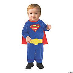 Baby Boy's Superman Romper Costume - 6-12 Months