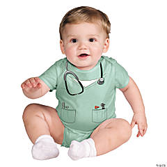 Baby Doctor Costume - 0-6 Months