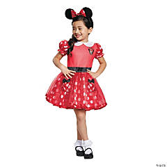 Baby Girl's Red Minnie Mouse™ Costume Dress - 6-12 Mo.