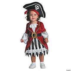 Baby Girl's Pirate Princess Costume - 12-18 Months