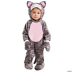 Baby Grey Stripe Kitten Costume - 6-12 Months