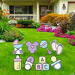 Baby Icon Yard Sign Kit