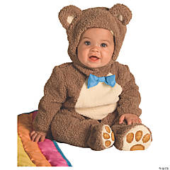 Baby Oatmeal Bear Costume - 6-12 Months