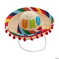 Baby's First Birthday Uno Fiesta Sombrero