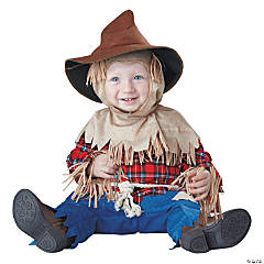Baby's Silly Scarecrow Costume