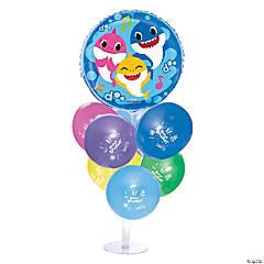 Baby Shark Balloon Centerpieces