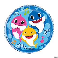Baby Shark Mylar Balloon
