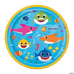 Baby Shark Paper Dessert Plates - 8 Ct.